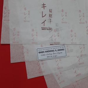 Giấy chống ẩm poluya đã in Logo - Định lượng 27g