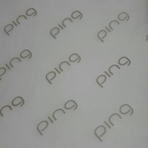 Giấy chống ẩm poluya đã in Logo - Định lượng 17g