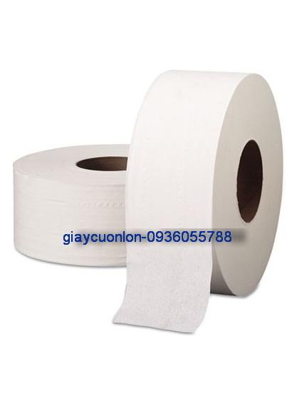 Giấy vệ sinh cuộn to 700g ,2lop mềm mịn và dai