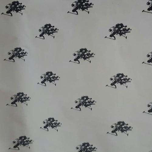 Giấy chống ẩm poluya của Indo đã in Logo - Định lượng 35g