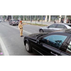 Chủ xe ôtô thế chấp ngân hàng sẽ không bị CSGT phạt lỗi thiếu giấy tờ bản gốc