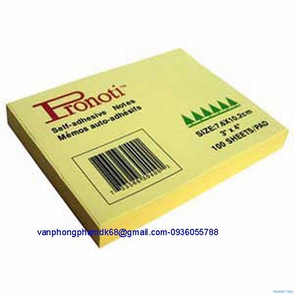 Giấy nhắn Pronoti 3x4
