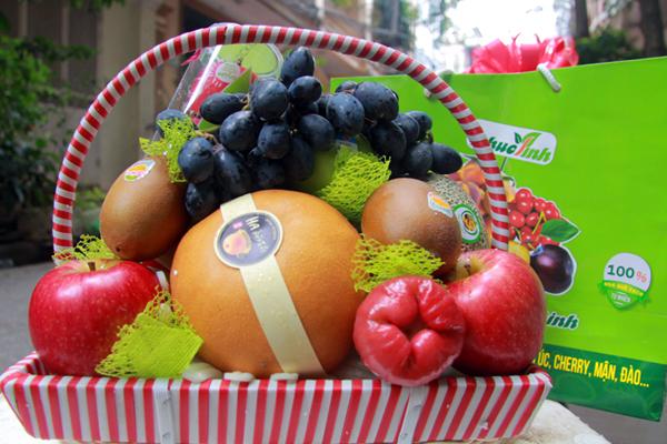 Giỏ hoa quả 1
