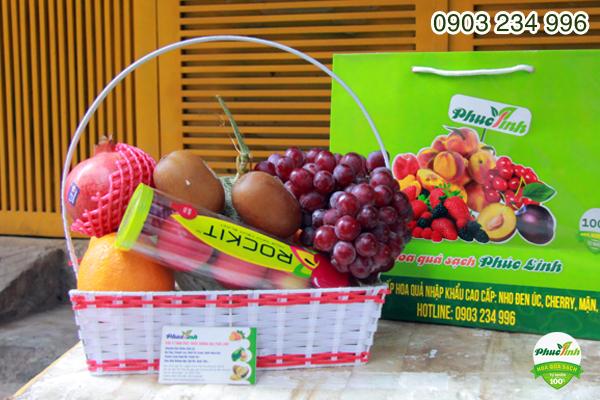 Giỏ hoa quả 12
