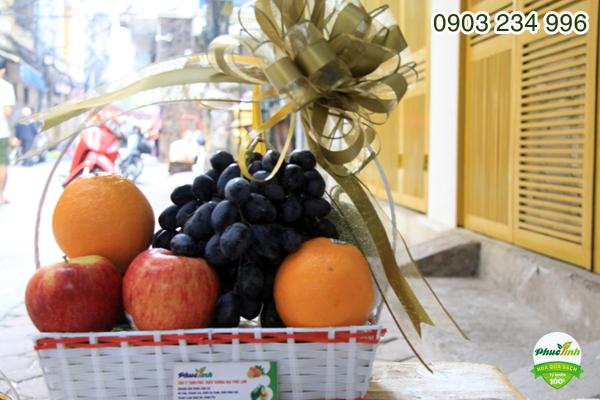 Giỏ hoa quả 13