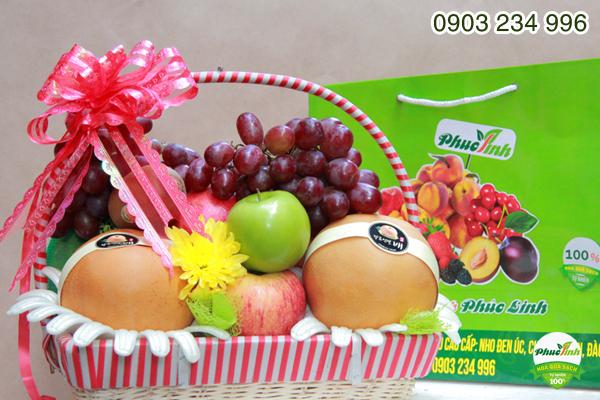 Giỏ hoa quả 14