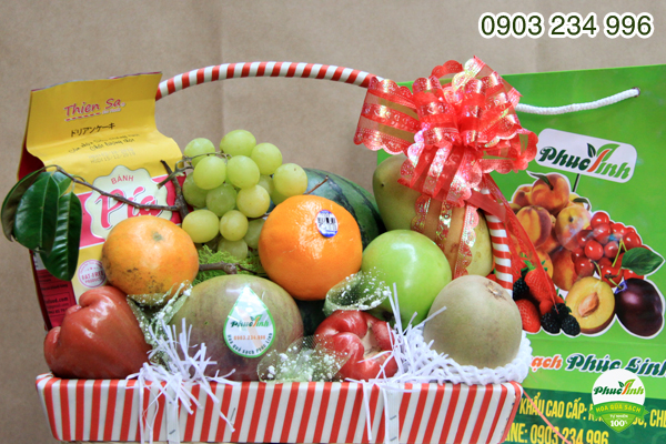 Giỏ hoa quả 15