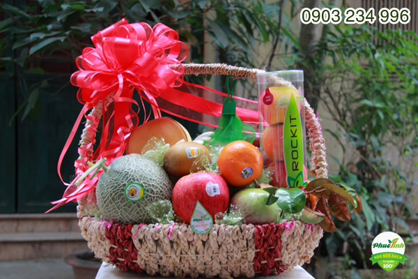 Giỏ hoa quả 4