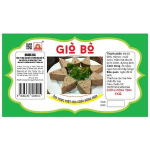 GIÒ BÒ 500G/ CHIẾC