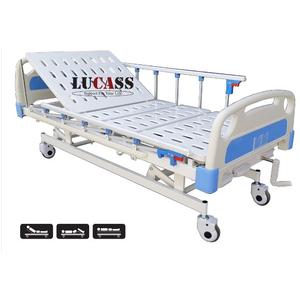 Giường bệnh nhân 3 tay quay Lucass GB-3