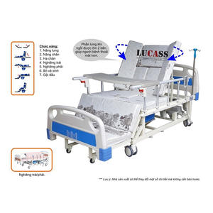 Giường điều dưỡng điều khiển điện Lucass GB-T5D