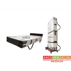 GIƯỜNG PHỤ KHÁCH SẠN KIỂU ĐỨNG NỆM LÒ XO 25cm HRC-04