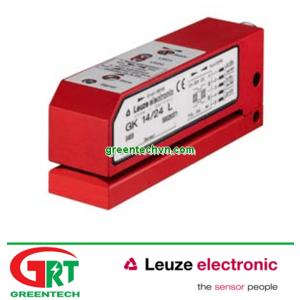 GK 14/24 L | Leuze | Cảm biến siêu âm quét nhãn, bao bì | Ultrasonic forked sensor