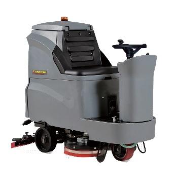 Máy chà sàn liên hợp ngồi lái Kraffer GM110BT85