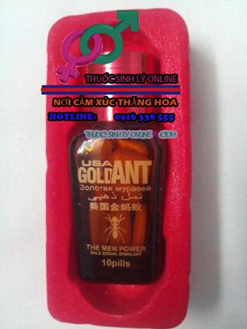 Thuốc GOLD ANT 6800 mg Thuốc Cương Dương thảo dược
