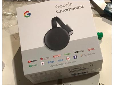 Google Chrome cast 3, thiết bị livestream mới nhất 2018, thiết bị kết nối tivi