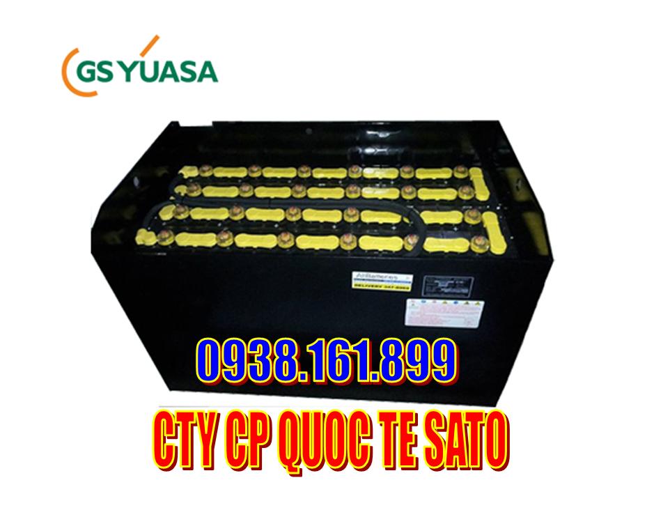 Bình ắc quy xe nâng hiệu GS Yuasa - Bán và cho thuê bình ắc quy xe nâng