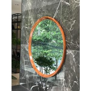 Gương soi mặt khung gỗ tự nhiên Citybuilding CBJ 189G