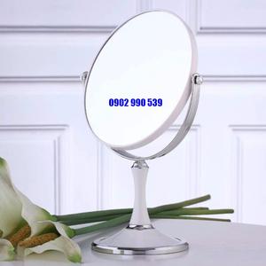 Gương Trang Điểm 2 Mặt Cỡ Lớn Xoay 360