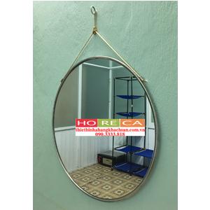 Gương treo tường inox trắng KTP02