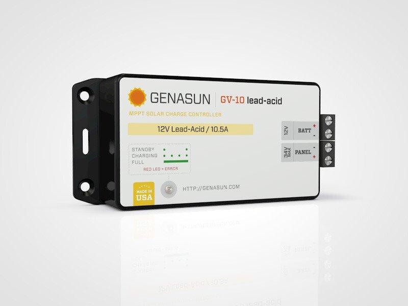 Bộ điều khiển nạp năng lượng mặt trời GENASUN 140wat 10A