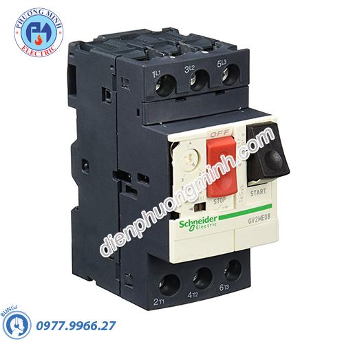 CB bảo vệ động cơ loại từ nhiệt GV2ME 13-18A - Model GV2ME20