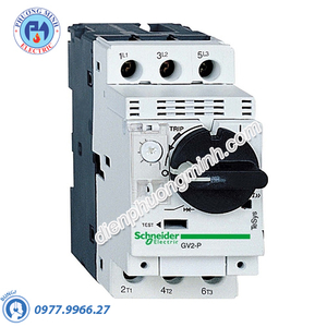 CB bảo vệ động cơ loại từ nhiệt GV2P 0.25-0.4A - Model GV2P03