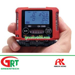 GX-2009   Riken Keiki GX-2009   Máy đo khí cầm tay GX-2009   Smallest Four Gas Confined Space Monito