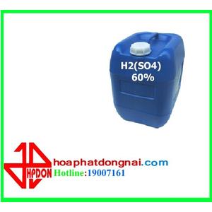 Axit Sunfuric (H2SO4) 60%