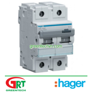 Hager AD620B|32A 2 pole with switched neutral 415V | Cầu dao cách ly Hager AD620B | Hager Vietnam
