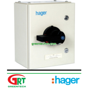 Hager JAB306 Enclosed Switch Disconnector TPN 63A   Tủ điện đóng ngắt Hager JAB303   Hager Vietnam