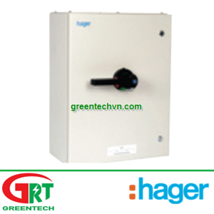 Hager JAC412  Enclosed Switch Disconnector TPSN 125A  Tủ điện đóng ngắt Hager JAC412   Hager Vietnam