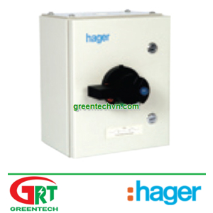 Hager JAG440  Enclosed Switch Disconnector TPN 400A   Tủ điện đóng ngắt Hager JAG440   Hager Vietnam