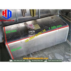 Hàng mới về - Thùng dầu nhiên liệu Diezen 400L vuông, KT KT 1.300x620x540 mm, chính hãng