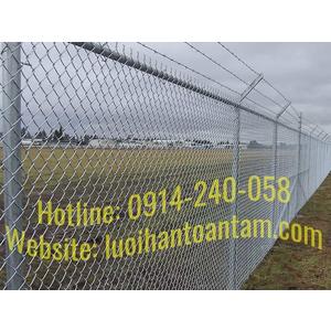 Hàng rào lưới thép B40 mạ kẽm - Báo giá thi công