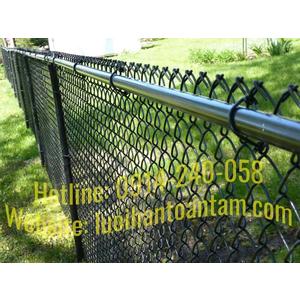 Hàng rào lưới thép B40 bọc nhựa - Báo giá thi công