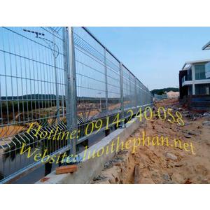 Hàng rào lưới thép chấn sóng hàn khung - TTFArc