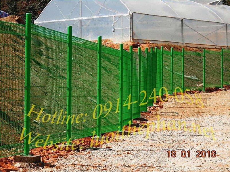 hàng rào lưới thép