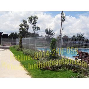 Hàng Rào Lưới Thép Nhúng Kẽm - Hàng Rào Lưới Thép