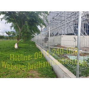 Hàng rào lưới thép hàn mạ kẽm - Nhà máy sản xuất