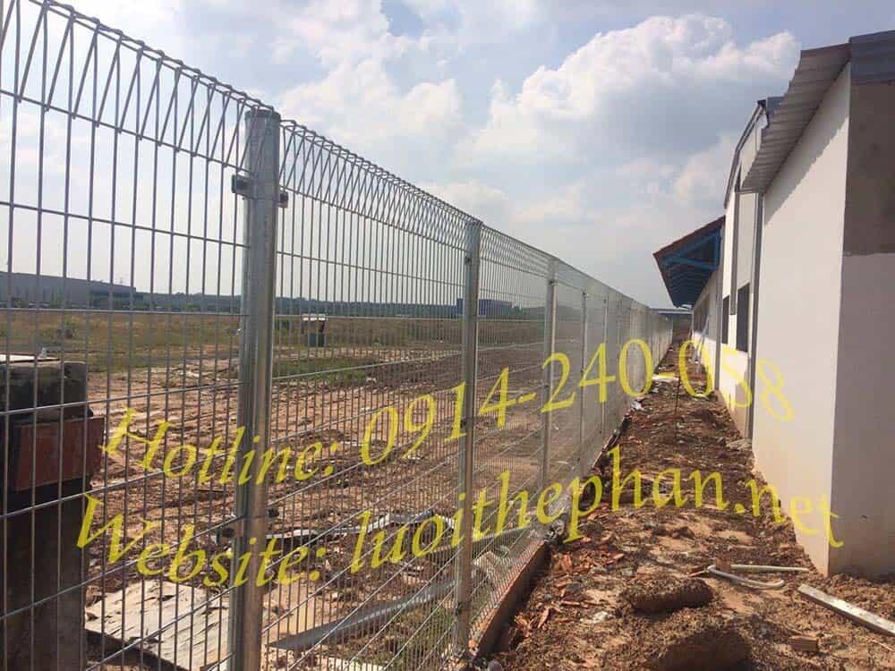 Báo giá hàng rào lưới thép tại HCM