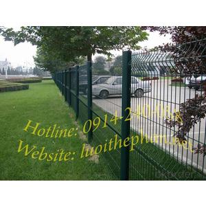 Hàng rào lưới thép bắt cột đào - TTPArc