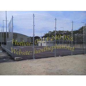 Hàng rào lưới thép hàn - Lưới rào sân tennis