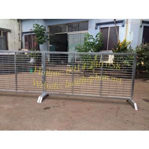 Hàng rào lưới sắt lắp ghép