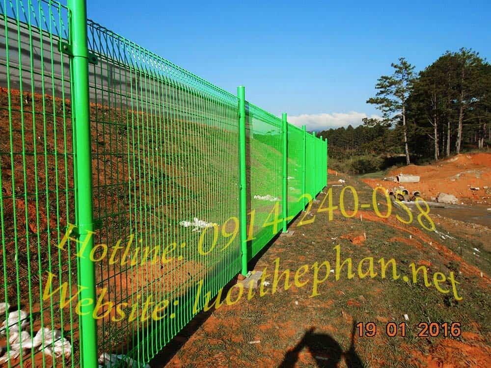 Hàng rào lưới thép tại HCM