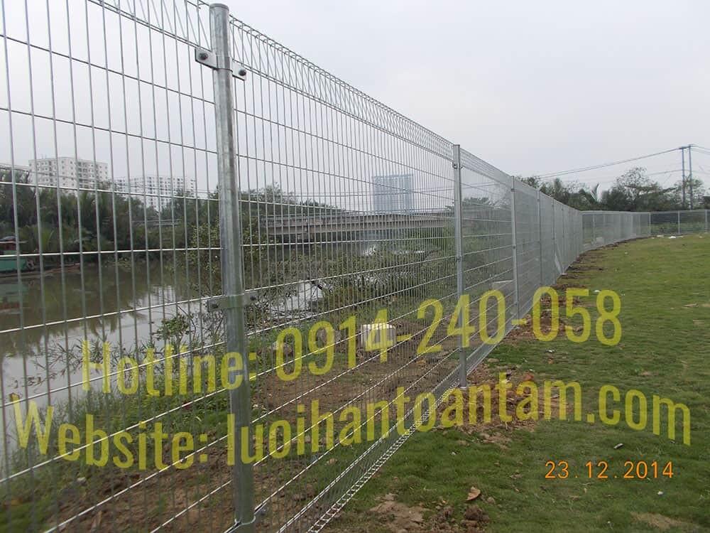 Báo giá hàng rào lưới thép