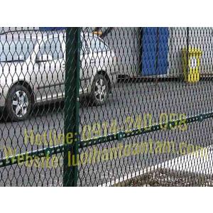 Hàng Rào Lưới Thép Mắt Cáo - Lưới Dập Giãn - Hàng Rào Lưới Hình Thoi