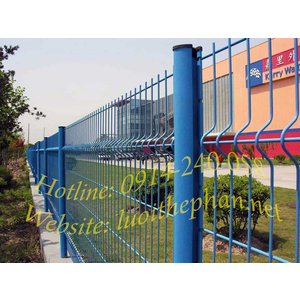 Hàng rào lưới thép - Sản xuất và thi công trực tiếp