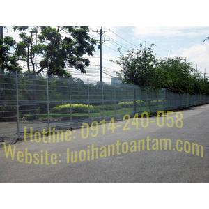 Hàng Rào Lưới Thép Tại HCM, Thi Công Hàng Rào Lưới Thép tại Quận Bình Thạnh