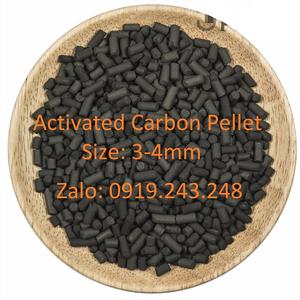 HẠT ACTIVATED CARBON 3-4MM